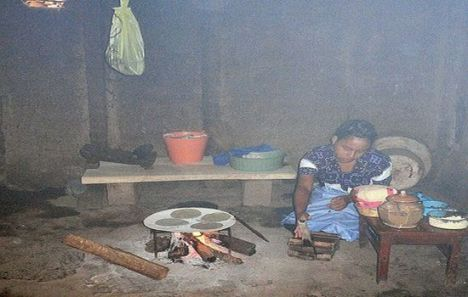 Woman and children are most affected by the pollution from smoky cookstoves and heating fires.
