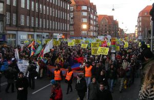 Rally for Climate Action, Copenhagen Dec. 12, 2009