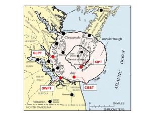 Chesapeake Bay Impact Crater